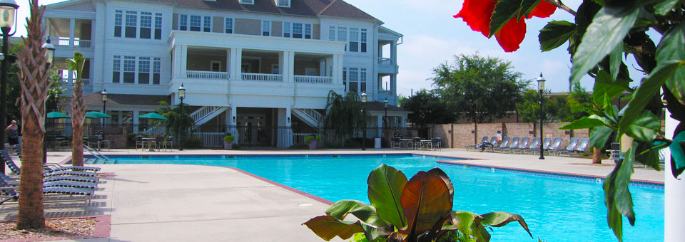 Birkdale apartments pool home