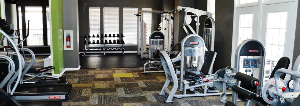 Fitness center home