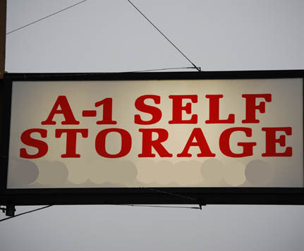 Portland sign A-1 SELF STORAGE