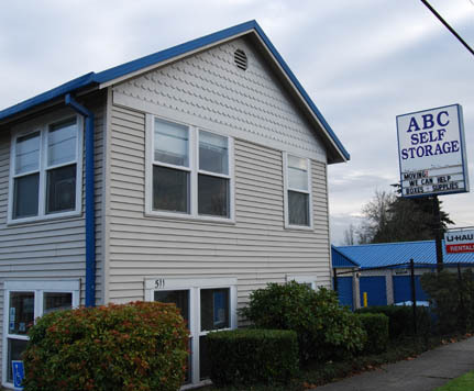 Exterior ABC SELF STORAGE
