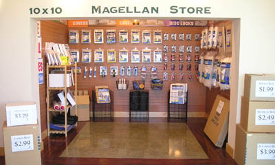 Moving supplies for sale at the Magellan Storage facility in Torrance CA
