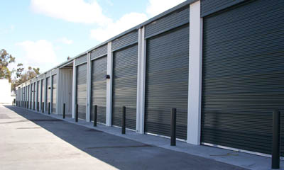 Large exterior storage units at Magellan Storage in Costa Mesa CA