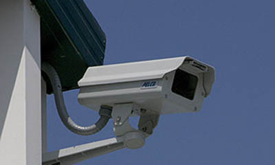 Security cameras at our Self Storage Facility near Newport Beach