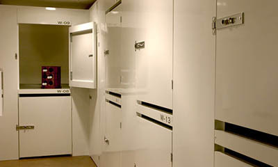 Magellan Storage offers wine lockers at our Magellan Storage facility near Newport Beach