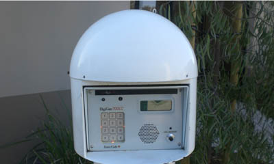 Security keypad for the Irvine Magellan Storage