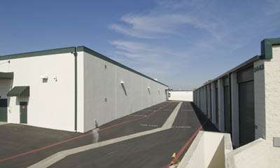 Drive up self storage units at Magellan Storage