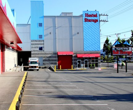 Magnolia bridge self storage facility drive by seattle wa
