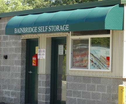 Front office BAINBRIDGE SELF STORAGE