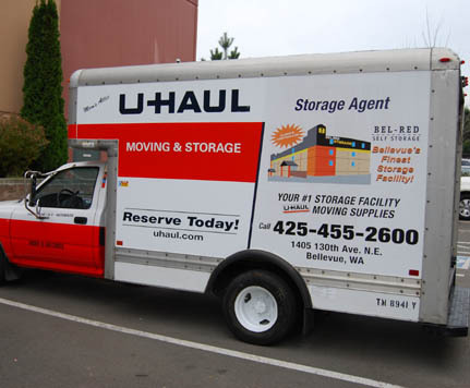 Bellevue uhaul BEL-RED SELF STORAGE
