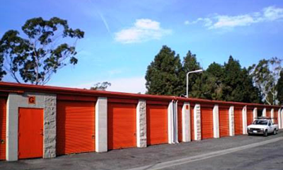 Culver City mini storage drive up units