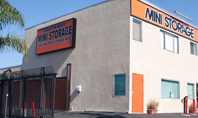 Hawthorne office exterior South Bay Mini Storage