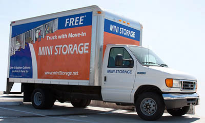 Move in truck manhattan beach Redondo Torrance Mini Storage