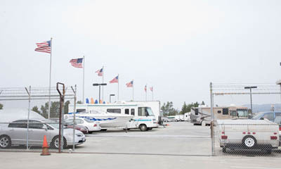 Self storage in Van Nuys gated vehicle and boat storage