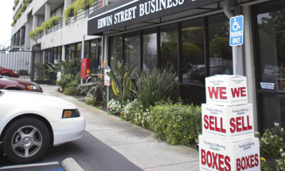 We sell boxes Sherman Oaks Mini Storage