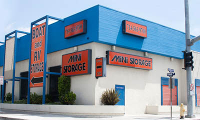 Building exterior at Anaheim Mini Storage