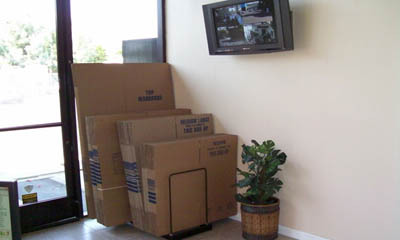 Purchase storage and moving supplies at Anaheim Mini Storage