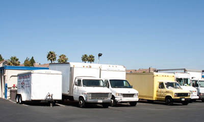 RV and vehicle parking at Costa Mesa Mini Storage