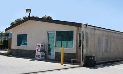 Santa ana office exterior Orange County Self Storage