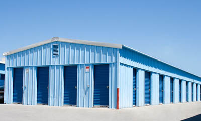 Self storage in Santa Ana small exterior units