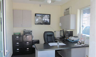 El Cajon self storage office interior