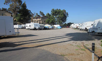Mini storage in El Cajon has RV, trailer and boat parking