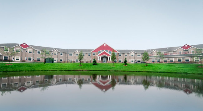 Beautiful views at Sterling Pointe Senior Community