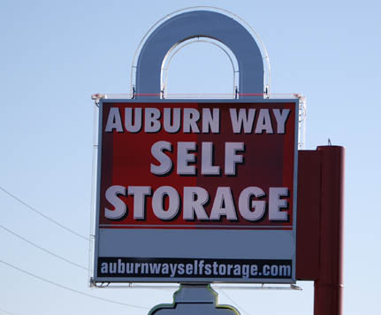 Sign AUBURN WAY SELF STORAGE