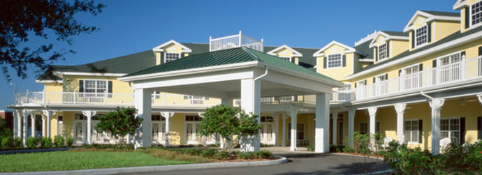 St. Petersburg Florida property exterior at Arbor Oaks at Tyrone
