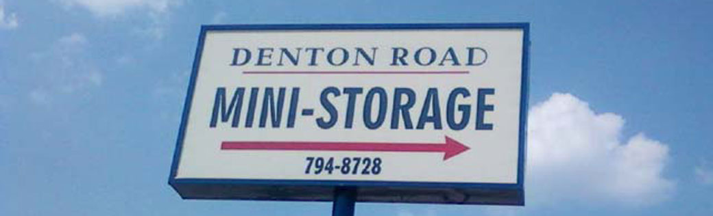 Dothan Self Storage sign