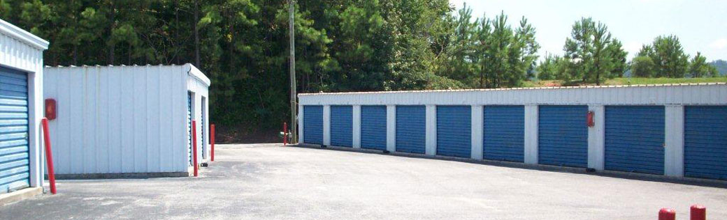 Birmingham self storage outdoor units