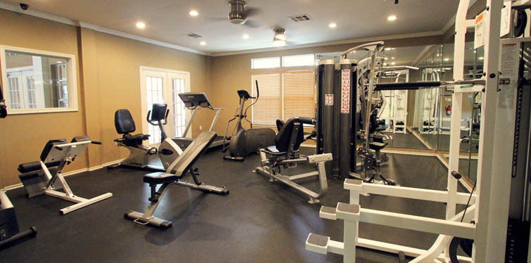 Austin apartments have a great fitness center