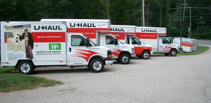 Lee NH U-haul trucks for rent