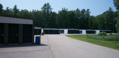 Extra wide driveways at our Lee NH Self Storage location