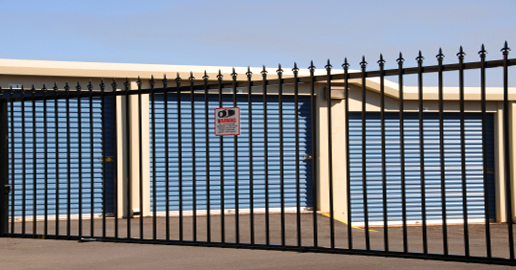 Gate access Pacific self storage