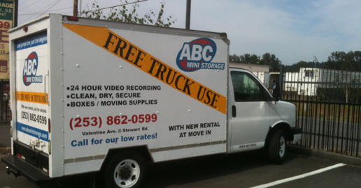 Truck Abc Mini Pacific near Auburn WA