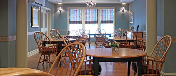 Bistro at senior living in Bedford, NH