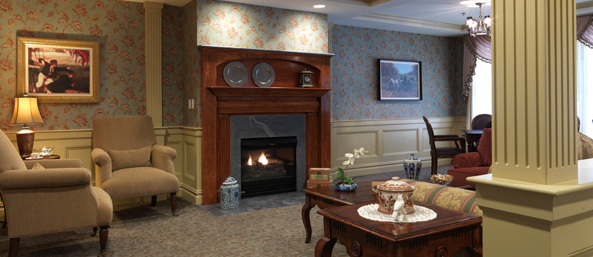 Common area at a bedford nh senior living community