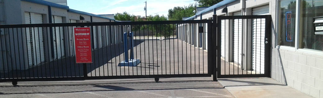 Self storage in Las Cruces is fenced and gated