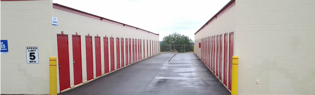 Storage units for rent in Silver City are safe and easily accessible