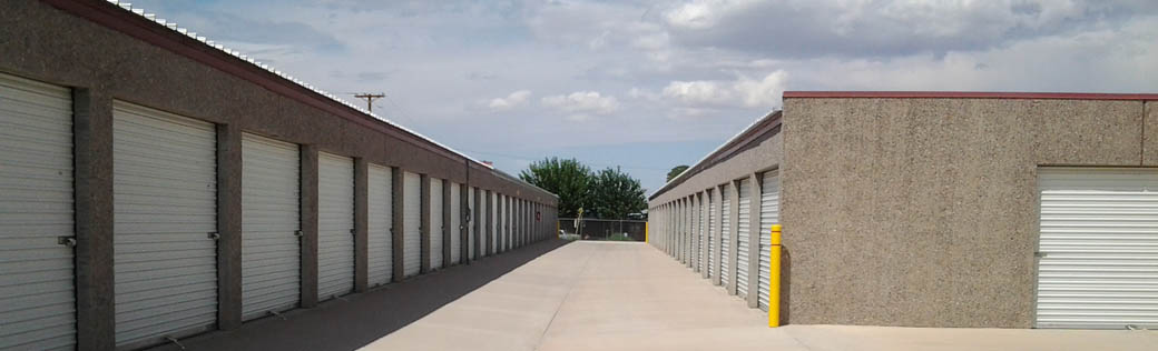 Self storage units for rent in Truth or Consequences are easily accessible