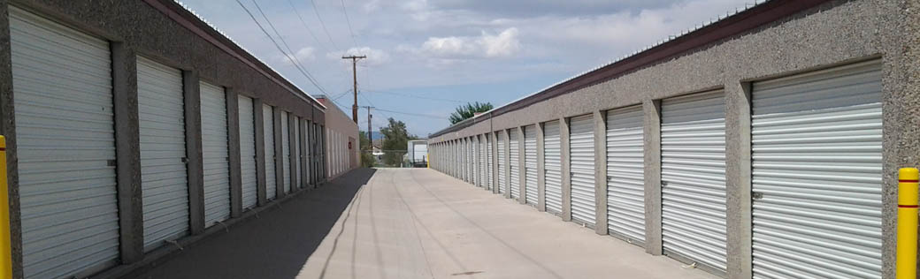 Large units are available at Truth or Consequences self storage