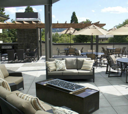 Covered Patio at Carman Oaks
