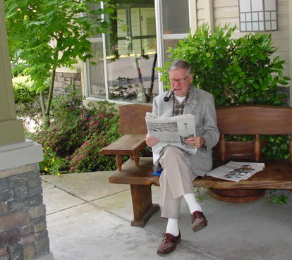 Reading at a wilsonville senior living community