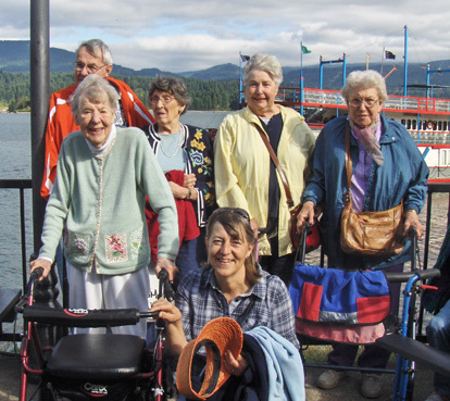 Outing at the dalles senior living