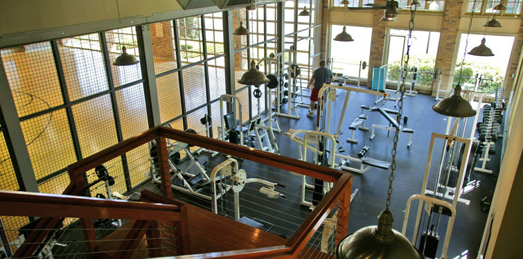 State of the art gym at Firestone