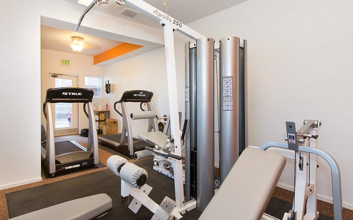 Lamplight amenities fitnesscenter