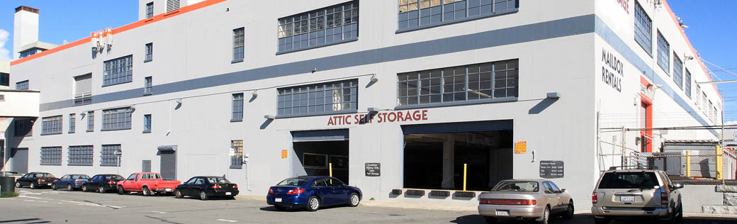 Dock access is available at self storage in San Francisco