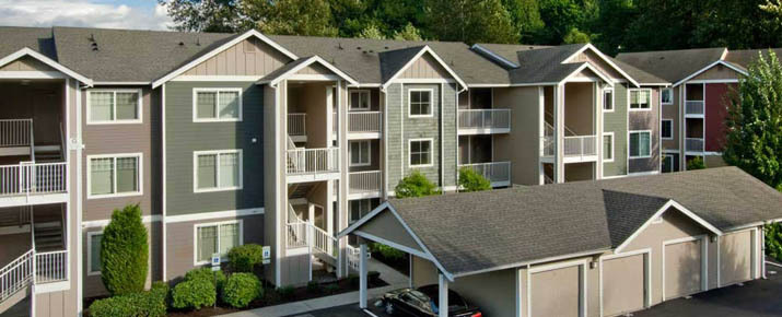 Apartments in Renton have garages