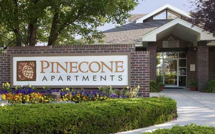Pinecone 01 exterior sign