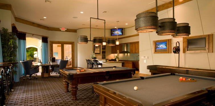 Billiards Marquis at Clear Lake apartments